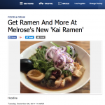 ABC Witness News Kai Ramen
